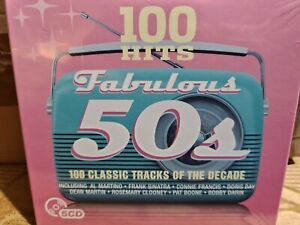 100 Hits - Fabulous 50s CD! 5 disc, Various Artists, New & Sealed