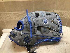 "Wilson A450 YP66 Y-Web Yasiel Puig 12"" Baseball Softball Glove Right Hand Throw"