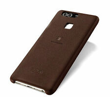 Plain Synthetic Leather Fitted Cases for Huawei Mobile Phones