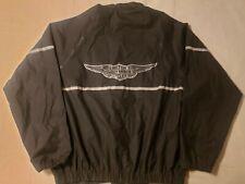 Harley Davidson Men's Reflective Rain Jacket RN 91539 Size Large Coat