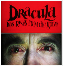 """16mm Feature Film: TECHNICOLOR """"Dracula Has Risen from the Grave"""" (1968) HORROR"""