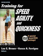 Training for Speed, Agility, and Quickness: Special Book/DVD Package by Lee E.