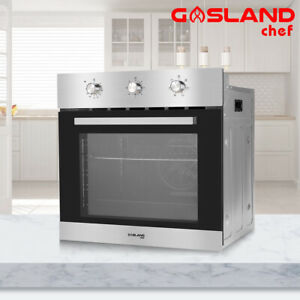 GASLAND chef 70L Electric Wall Oven 6 Function Stainless Steel Fan Forced