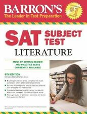 Barron's S. A. T. Subject Test Literature by Christina Myers-Shaffer (2014,...