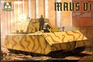 1/35 German MAUS V1 super heavy tank -- Takom 2049