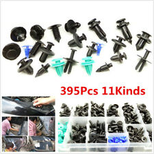 395pc Mixed Car Door Bumper Fender Liner Sealing Strip Fixed Clips Auto Fastener