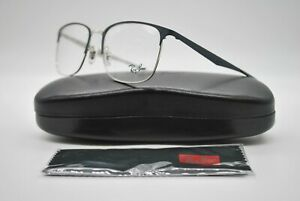 NEW RAY BAN RB 6421 3004 GRAY AUTHENTIC EYEGLASSES FRAMES RX 54-18