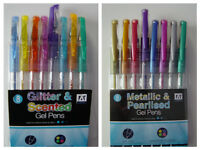 Gel Pens, adult colouring, party bag filler, ideal at home, school or office