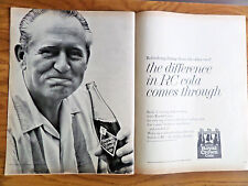 1962 RC Royal Crown Cola Soda Ad Movie Author TV Radio Star Art Linkletter