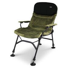 ABODE® Memory Foam Carp Fishing Camping Easy-Arm™ Recliner Armchair Chair