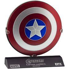 eFX Marvel The Avengers Captain America Shield Die-Cast Scaled Replica *NEW*