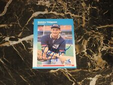 1987 FLEER ROOKIE/AUTO CARD FROM BOBBY THIGPEN #507 NM-MT
