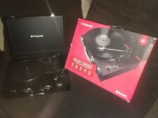 Polaroid Portable Bluetooth Turntable w/ Speakers - Vinyl & Wireless NO Cable