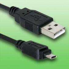 Cable USB para Panasonic Lumix DMC-FX07. Cable de datos | Longitud 1, 5 m