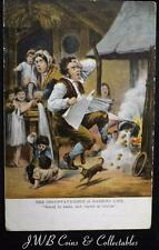 """Old Comical Postcard """"The Onconvaynience of Married Life"""" """"Marry In Haste,...."""