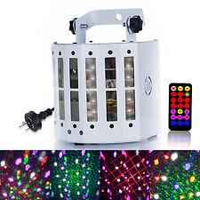 DMX-512 LED Laser Projector RGBWY Strobe Stage Light Sound Active DJ Disco KTV