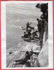 1940 HMCS Canadian Destroyer Rescues Torpedoed Merchant Crew Original News Photo