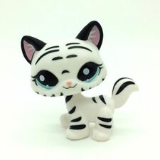 Littlest Pet Shop 1498 WHITE TIGER SABERTOOTH WALKING Puppy Dog Lose LPS USA