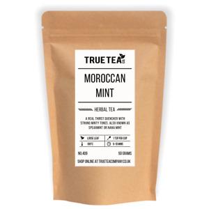 Moroccan Mint Tea (No.409) - Loose Leaf Spearmint Herbal Tea - True Tea Co.