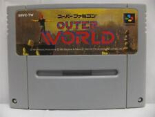 "NINTENDO SUPER FAMICOM "" OUTER WORLD "" SFC SNES JAPAN"