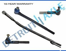 New 4pc Front Suspension Tie Rod Set Ford Excursion F-250 F-350  2WD Drag Link