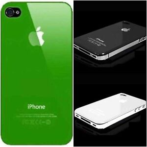 iPhone 4 4s ultra thin coloured hard case buy 2 get a 3rd one free