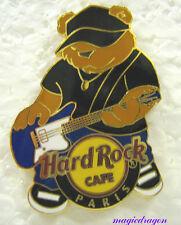 Hard Rock Cafe Paris Rockin Bear Pin .