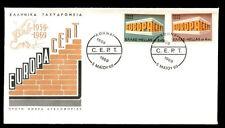 GREECE 1969  EUROPA - CEPT FDC
