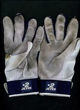 Derek Jeter Game Used Pair of #2 NIKE Michael Jordan Batting Gloves NY Yankees