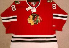 RARE 2007 Chicago Blackhawks Patrick Kane Rookie Draft Day CCM hockey jersey