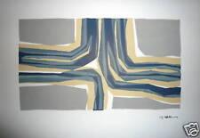 Raoul UBAC Lithographie Origianle sur velin Art Absttrait Abstraction Belgique