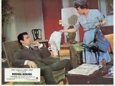 TONY CURTIS THELMA RITTER BOEING-BOEING 1965 VINTAGE PHOTO LOBBY CARD #6
