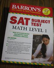 Barrons SAT Subject Test: Math Level 1 (4th Edition)