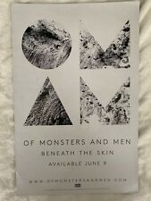 Of Monsters And Men promotional 11x17 official poster  (Not a CD, DVD or Vinyl)