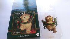 """Collectible (1998) Christmas """"A Festive Frolic"""" #158 (Carlton Cards)"""