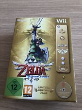 THE LEGEND OF ZELDA: SKYWARDSWORD LIMITED EDITION PACK GOLD REMOTE Wii LIKE NEW