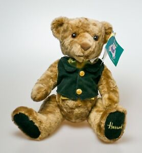 "Harrods Knightsbridge 18"" Rodney Teddy Bear articulated with Tags"