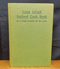 LONG ISLAND SEAFOOD COOK BOOK By J. George Frederick and Jean Joyce 1939