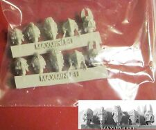 MAXMINI MXMCB062 Mecha Egyptian Helmets (10) Conversion Bits Heads SF Marines