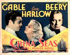 China Seas - 1935 - Clark Gable Jean Harlow Tay Garnett  Vintage b/w Film DVD