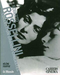 Livre Roberto Rossellini collection grands cinéastes Cahier cinéma 2007
