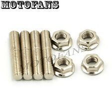 Exhaust Port Studs & Nuts KIT For Harley Dyna Street Bob FXDBP 2013–2014 Glide