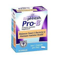 Rephresh Pro B Probiotic Feminine Supplement 30 Capsules - 1 Per Day