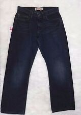 Wrangler Jeans Co. Mens Jeans Size 30 x 30 Relaxed Boot Cut Denim Blue EUC Dark