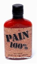 100% PAIN Original 7.5oz 210g X HOT HABANERO Sauce ghost juan pepper Scoville