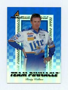 Rusty Wallace & Robin Pemberton 1997 Team Pinnacle Blue Insert Card 1:240 Packs