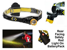 CK TOOLS LED HEAD TORCH - 120 LUMENS - CREE XR-E Q3 - CAMPING, CYCLING, RUNNING