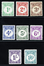 GILBERT & ELLICE ISLDS 1940 SC J1-8 OG MLH *COMPLETE SET 12 POSTAGE DUE STAMP