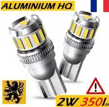 ✅ 2x T10 LED W5W PREMIUM ✨ULTRA🌐 360° HP⚠️350lms 13 SMD 6000k 12V 2W ALU HQ 💎