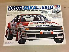 Rare NIB Tamiya Toyota Celica GT Four Rally Item 58096